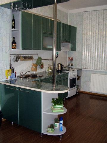 Как наколдовать квартиру - наша кухня